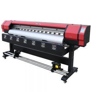बैनर विलायक प्रिंटर बड़े प्रारूप प्रिंटर WER-ES1601 मुद्रित करने के लिए 1.6 मीटर प्रिंटर