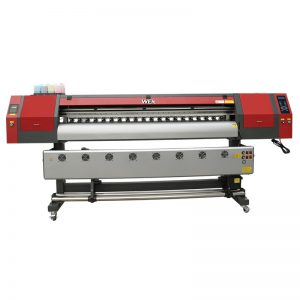 टी-शर्ट प्रिंटिंग के लिए तीन डीएक्स 5 प्रिंट हेड के साथ 1.8 मीटर चौड़ा प्रारूप डाई सब्लिमिनेशन प्रिंटर WER-EW1902