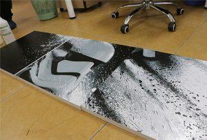 WER-G2513UV बड़े प्रारूप यूवी प्रिंटर द्वारा मुद्रित बिलबोर्ड