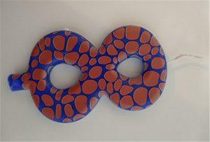 ए 2 आकार यूवी प्रिंटर से मोमबत्ती नमूना 1
