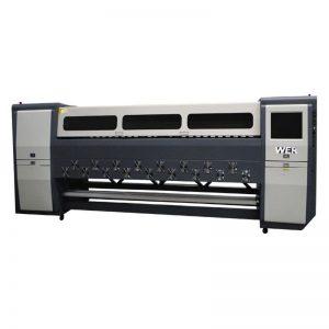 अच्छी गुणवत्ता K3404I / K3408I सॉल्वेंट प्रिंटर 3.4 मीटर भारी शुल्क इंकजेट प्रिंटर