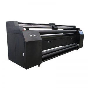 WER-E1802T 1.8m सीधे 2 * डीएक्स 5 उत्थान प्रिंटर के साथ कपड़ा प्रिंटर के लिए