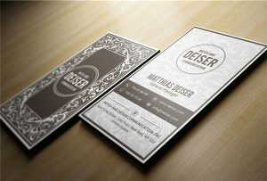 लकड़ी के नाम कार्ड मुद्रित-दर-A1-यूवी WER-EP6090UV