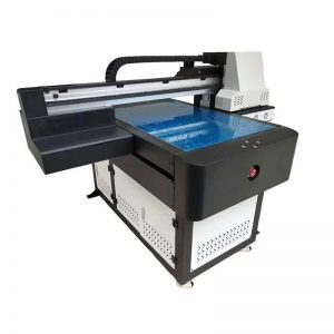 वॉटर वाइन प्लास्टिक सिरेमिक ग्लास स्टील की बोतलों के लिए डिजिटल यूवी इंकजेट प्रिंटिंग मशीन WER-ED6090UV