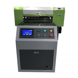 सीधे कपड़ा कपड़ा कपड़ा कपड़े प्रिंटिंग मशीन टी शर्ट यूवी प्रिंटर WER-ED6090T वस्त्र के लिए सीधे