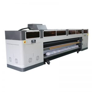 उच्च रिज़ॉल्यूशन हाई स्पीड डिजिटल इंकजेट प्रिंटर मशीन रिचोह जीन 5 प्रिंट हेड यूवी प्लॉटटर WER-G-3200UV के साथ