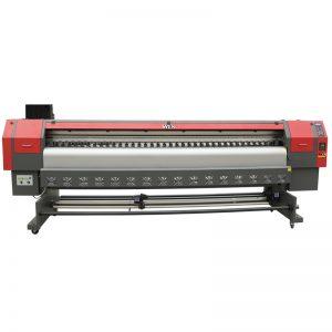 उच्च गति 3.2 मीटर विलायक प्रिंटर, डिजिटल फ्लेक्स बैनर मुद्रण मशीन मूल्य WER-ES3202