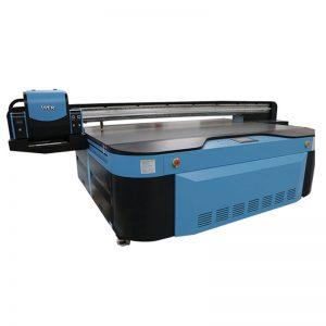2.5 मीटर * 1.3 मीटर प्रिंटिंग आकार 3 डी उभरा औद्योगिक एलईडी यूवी प्रिंटर धातु के लिए; लकड़ी; कांच; सिरेमिक; बोर्ड; एक्रिलिक; पीवीसी,